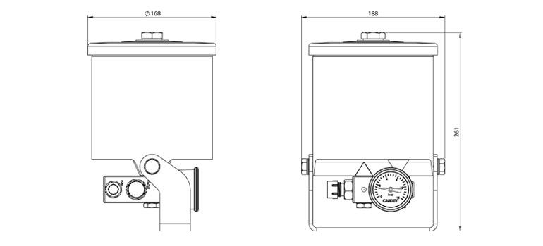 Dimensions du filtre cardev hdu h300