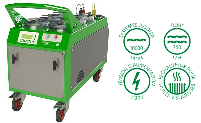 Filtration mobile cardev 6S E