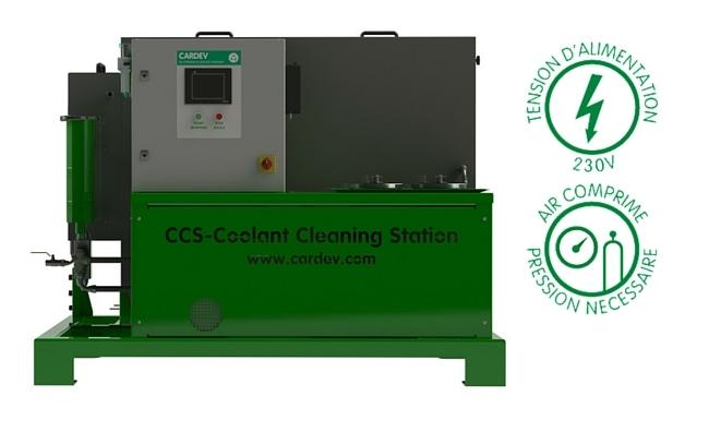 Station nettoyage CCS Cardev