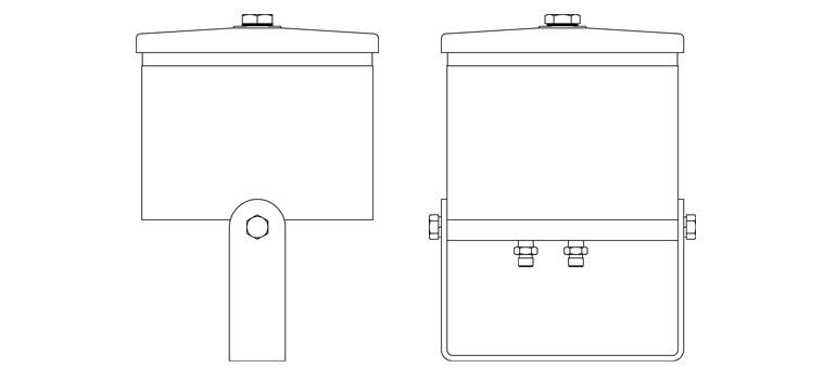 Dimensions du filtre Cardev SDU-M8