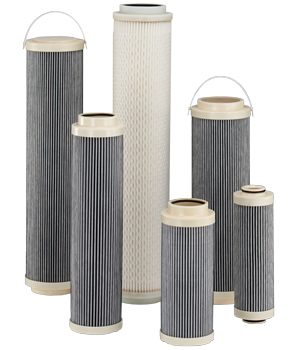 Eléments filtrants anti-statique