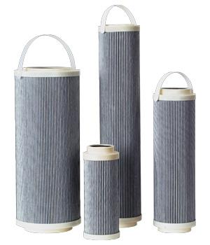 Eléments filtrants sans âme métalliques