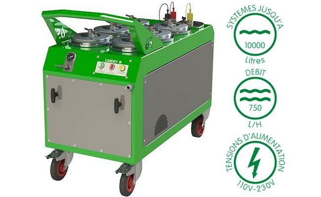 Filtration mobile cardev 6S B