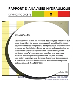 Rapport analyse hydraulique