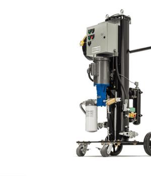 Chariot mobile pour traitement des gasoils FCLCOD