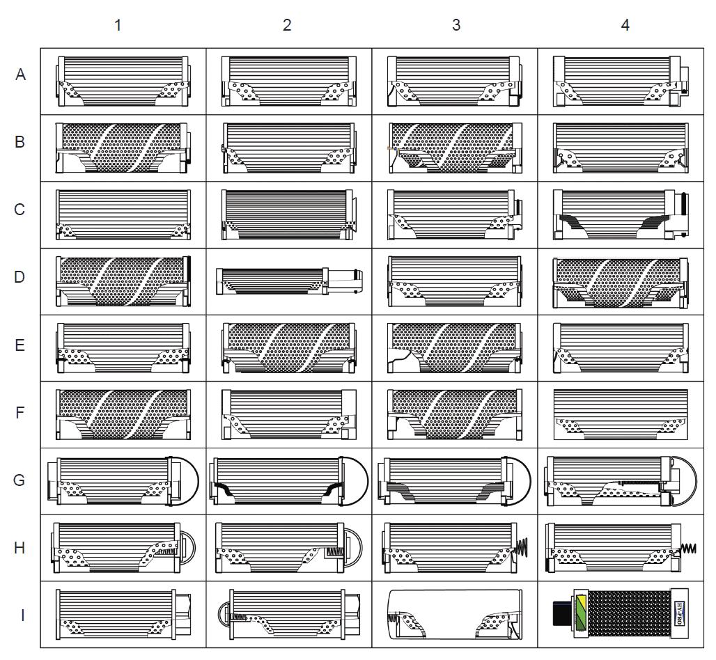 Identification type cartouche