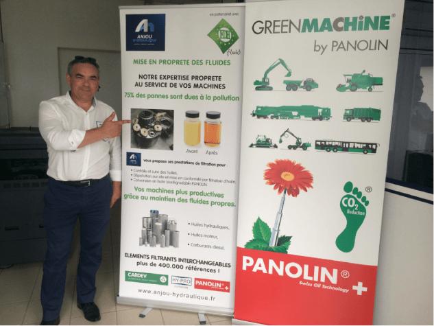 Anjou Hydraulique partenaire EDH Fluid