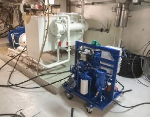 Filtration de la contamination aqueuse
