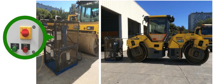 traitement diesel compacteur atlas copco