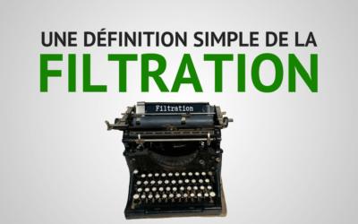 Qu'est-ce que la filtration dans l'hydraulique ? – Définition