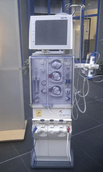 Machine de dialyse médicale
