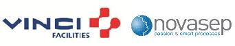 Logo Vinci Facilities et Novasep