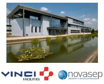 Site industriel Novasep géré par Vinci Facilities