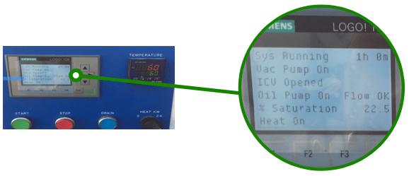Tableau de contrôle purificateur VUD15