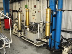 Pollution des circuits hydrauliques des flèches