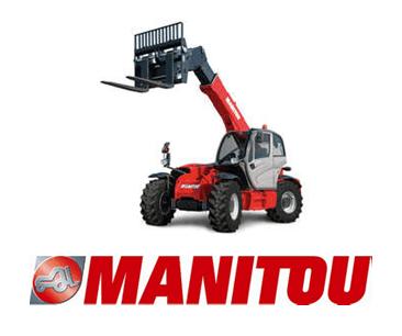 Logo Manitou et chariots télescopiques
