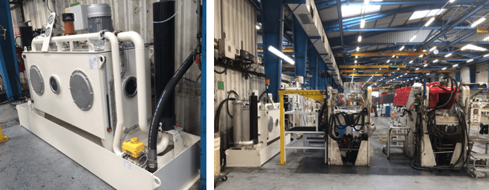 Réservoir secondaire avec capacité de 800 litres